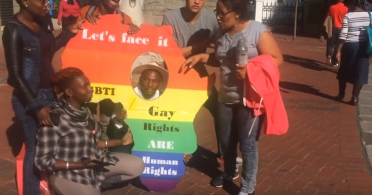 Cape Town 'Pop-Up' Pride Video