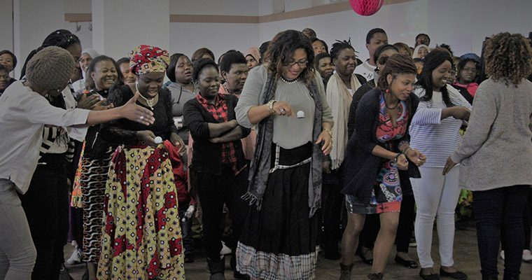 Cape Town celebrating women's month at scalabrini