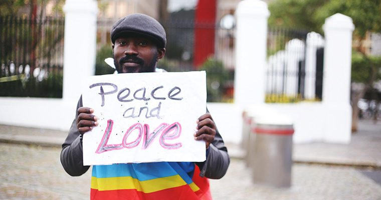 Cape Town Celebrating international day of peace in a South African context