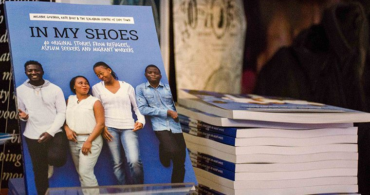 cape towns refugees and migrants launch their new book in my shoes