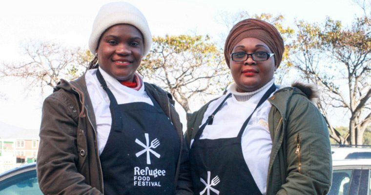 Cape Town Scalabrini Chefs Hit Refugee Food Festival