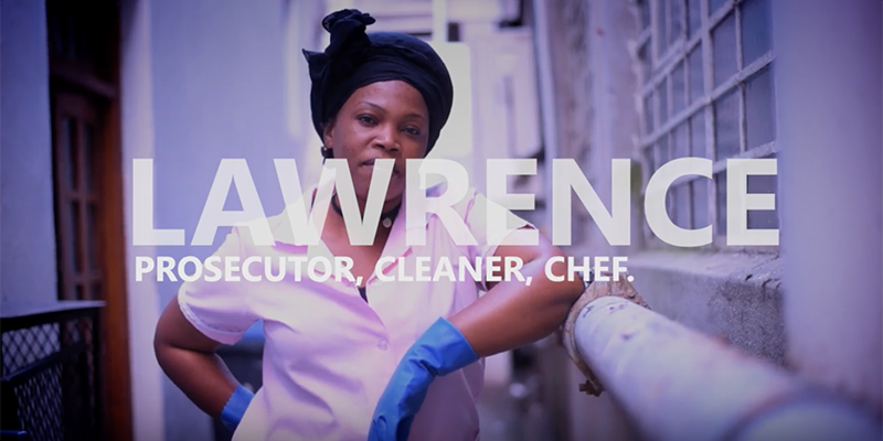 lawrence-video-Prosecutor-Cleaner-Chef-immigration-refugee